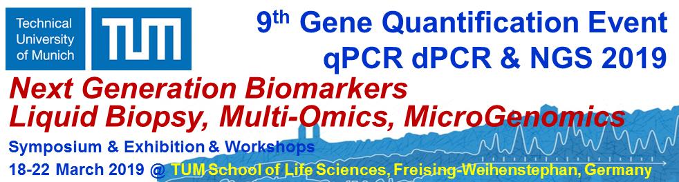 9th international Gene Quantification Event -- Symposium